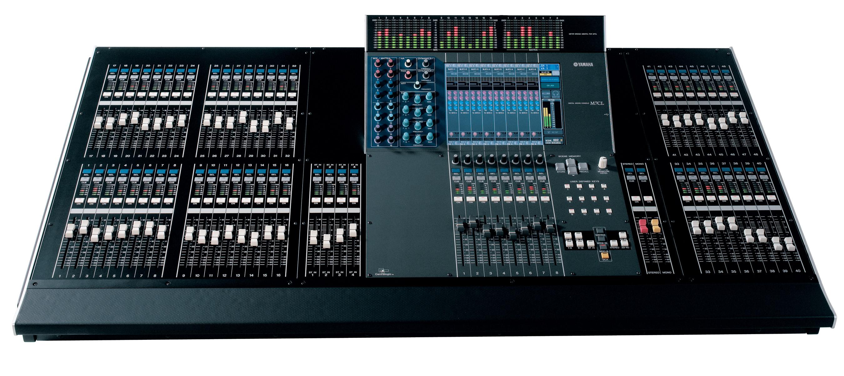 Yamaha Audio Mixing Console Cl Amazon